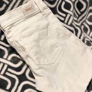 Cutoff Levi shorts